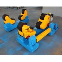 Wholesale Rubber Wheel Pipe Conventional Welding Rotator 40 Ton Loading Capaicty from china suppliers