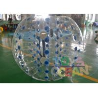 Wholesale Transparent Giant Inflatable Bumper Balls For Human / Body Water Zorbing Ball from china suppliers