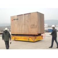 Wholesale 15t Rubber wheel transfer cart for consctruction material handling from china suppliers