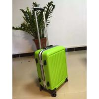 Wholesale Zipper Durable Hard Shell Travel Luggage Aluminium Rob For Childrens from china suppliers
