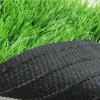 Quality The football artificial grass 50mm PE green for sale