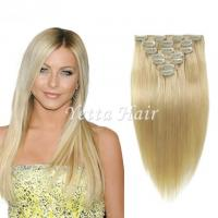 Wholesale Brazilian Straight Clip In Pre Bonded Hair Extensions No Any Bad Smell from china suppliers