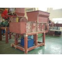 Wholesale 45KW Industrial Plastic Shredding Machine PLC , plastic recycling machines from china suppliers
