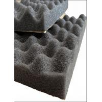 Wholesale Egg Shape PU Acoustic Insulation Foam For Building Noise Reducing / Soundproof from china suppliers