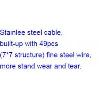 Tangle Free Cord Retractor be made with Stainlee steel cable