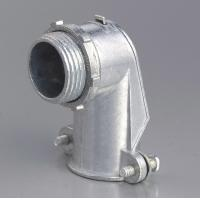 Wholesale 90 Degree Metal Zinc Flexible Conduit And Fittings Squeeze Angle Connectors from china suppliers