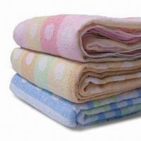 Wholesale Towel Blankets, Made of 100% Cotton Terry, Available in Various Colors and Sizes from china suppliers