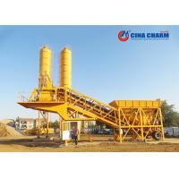 Wholesale Compact Mobile Concrete Batching Plant , Mini Portable Universal Mobile Batching Plant from china suppliers