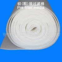 Quality 20 mm Synthetic Fiber Washable Pre Filter Media For  Spray Booth for sale