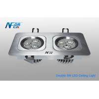 Wholesale Double Head Indoor High Power LED Ceiling Light 240V 60HZ With Aluminum Shell from china suppliers