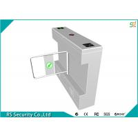 Wholesale Intelligent Swing Turnstile Security Systems Pedestrian , Bank Scenic from china suppliers