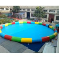 Wholesale Good Tension Family Round Inflatable Swimming Pool Fireproof For Children from china suppliers
