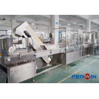 Wholesale PERWIN Mosquito Repellent Liquid Filling Machine / Repellent Filling Production Line from china suppliers