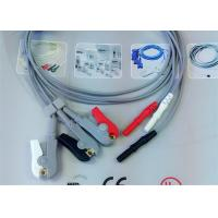 Wholesale Compatible Din Style Safety 3 Leads Grabber AHA ECG Leadwires from china suppliers