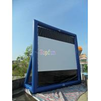 Wholesale Movable Indoor / Outdoor Inflatable Movie Screen / Blow Up TV Screen Gor Backyard / Amusement Park from china suppliers