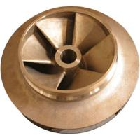 Wholesale Silicon brass, tin bronze water pump impeller for electric power fitting from china suppliers