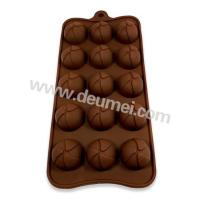 Wholesale OEM Factory Direct Sale Silicone Sphere with Fan Design Chocolate Mold from china suppliers