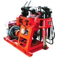 Wholesale 100m Rotary Trailer Mounted Water Well Drilling Rigs With Mud Pump from china suppliers