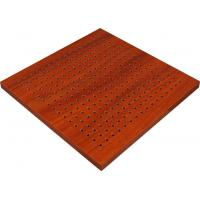 Buy cheap Soundproofing Ceilings Wooden Perforated Acoustic Panel For Work Spaces from wholesalers