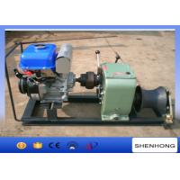 Wholesale Axle Bar Driven Gas Powered Capstan Winch , 3 Ton Electric Cable Hoist Winch from china suppliers