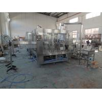 Wholesale 3 In 1 Juice Bottling Equipment Stainless Steel / Filling Capping Machine from china suppliers