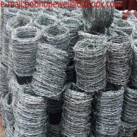Buy cheap Barbed Wire Factory / Razor Barbed Wire/galvanized sheffield barbed wire with low prices/200m Roll  Barbed Wire from wholesalers