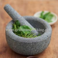Wholesale Marble kitchen mixer mortar and pestle from china suppliers