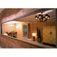 Wholesale 6MM clear rectangle  mirror with antique frame from china suppliers