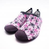 Wholesale Lycra Ultra Light Non Slip Water Shoes With Bootstrap Causal Printing from china suppliers