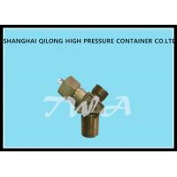 Wholesale Brass Oxygen cylinder valves Adjustable Pressure Relief Valve CGA200 from china suppliers