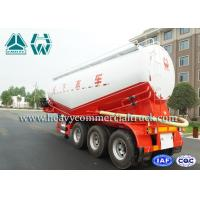 Wholesale 45CBM 60 Tons OEM Cement Bulk trailer With Leaf Spring Suspension from china suppliers