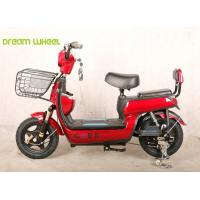 Wholesale 14 Inch48V  nice design Electric Bike/scooter , lady and child style with two seats for SE market from china suppliers