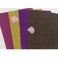 """Wholesale Stylish Shiny Glitter Foam Sheets Crafts Wrapping Paper 1/128"""" Glitter Sand Material from china suppliers"""