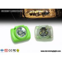 Wholesale 15000 Lux LED Mining Light , Illuminance Oled Screen Miners Cap Lamp 1W from china suppliers