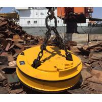 Wholesale 27.3KW Industrial Lifting Magnets / Magnetic Lifting Devices For Screp Metal Hoisting from china suppliers