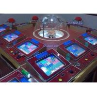 China TRINIDAD 6 and 12 Players Electronic Roulette Machine with Gambling Tables on sale