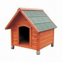 Wholesale Dog Kennel, Made of Chinese Fir Wood, Different Sizes are Available from china suppliers