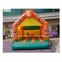Wholesale Lovely Tiger Kids Inflatable Jumping Castles , EN71 Inflatable Bouncy Castles from china suppliers