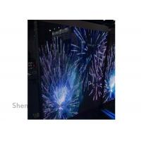 Wholesale Hanging Led Curtain Screen Billboard On Window , Transparent Led Display Amazing Effect from china suppliers