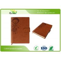 Wholesale Eco Friendly A4 A5 Size Recycled Custom Embossed Notebook For School / Office Using from china suppliers