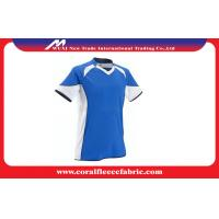 Wholesale Vneck Line Custom Soccer Jerseys , Running Football T Shirt for Boys and Men from china suppliers