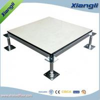 Quality Anti Skid Computer Room Raised Floor Tiles , Raised Basement Flooring for sale