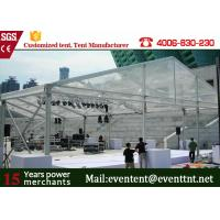 Wholesale New Design 30m Width Clear Span aluminum Buildings With Glass Wall 800 Sqm Area from china suppliers