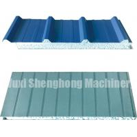 Wholesale Continuous EPS Sandwich Panel Production Line 0.286 - 0.6mm Thickness from china suppliers