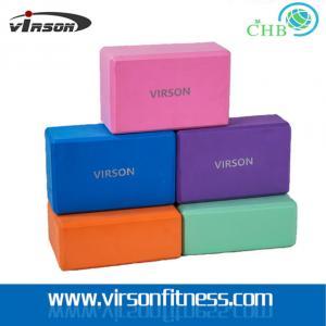 Wholesale Ningbo Virson Yoga Pilates Stretch Exercise Gym EVA Foam Yoga Block / Brick from china suppliers