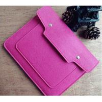Wholesale good quality 15 Inches Felt Laptop Sleeve and low price  laptop sleeves printed with your Logo from china suppliers