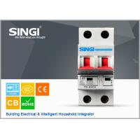 Wholesale IEC60898 ISO9001 Electrical mini circuit breaker overcurrent protection from china suppliers