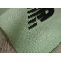 China Two Layers Color Silicon Heat Transfer Clothing Labels With Soft Hand Feel For Outdoor Garment for sale