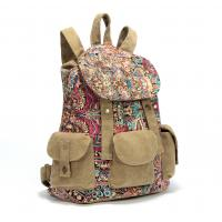 Wholesale Fashional Canvas Backpack For Women & Girls Casual colorfull Book Bag For school Daypack from china suppliers