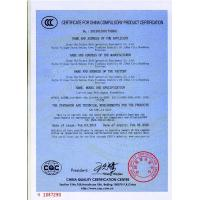 Shandong Ourfuture Energy Technology Co., Ltd. Certifications
